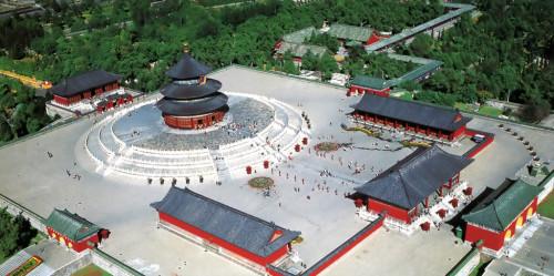 Храм Неба - сверху