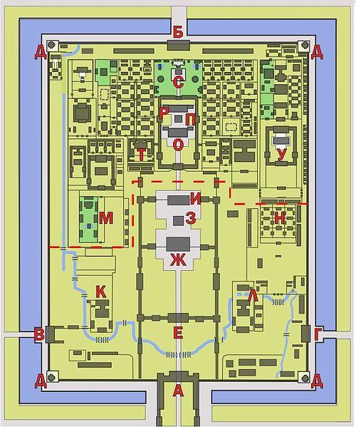 Схема Запретного города