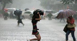 Сезон дождей в апреле