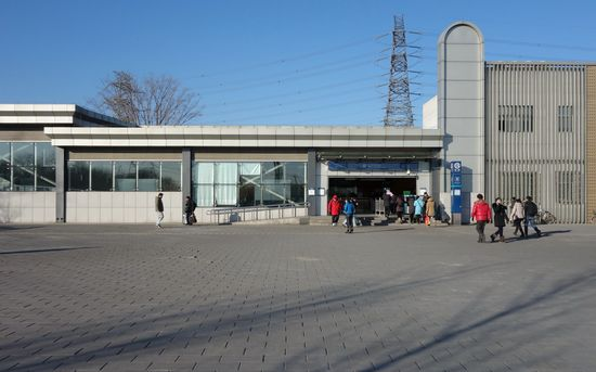 Anheqiao North station