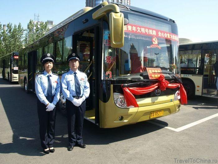 Автобусы в Харбине