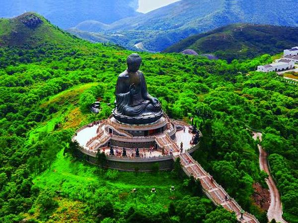 Большой Будда на острове Лантау