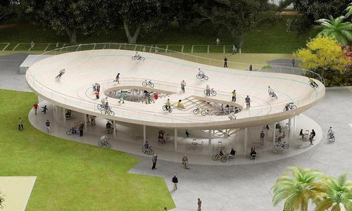 China Rooftop Velodrome