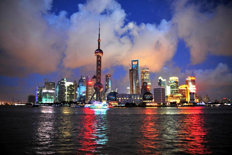 Фото Шанхая с реки