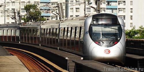 Фото метро Гонконга