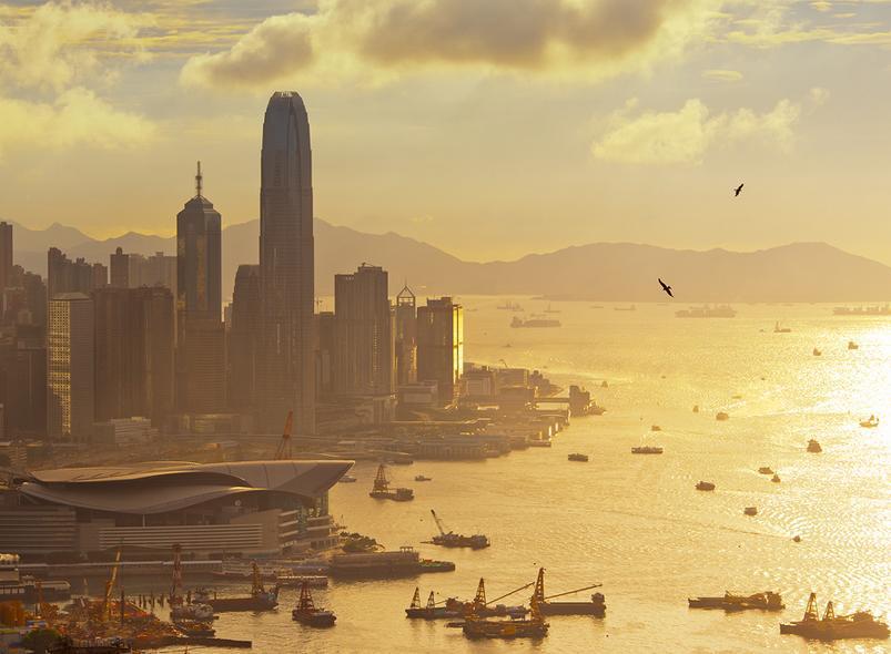 Утренний Гонконг