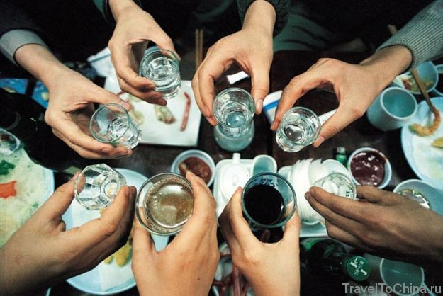 Как пьют китайцы