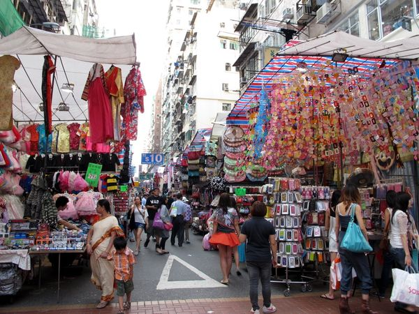 Гонконгский Ladies Market