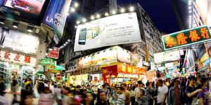 Mong-Kok-Street