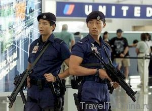 Охрана международного аэропорта