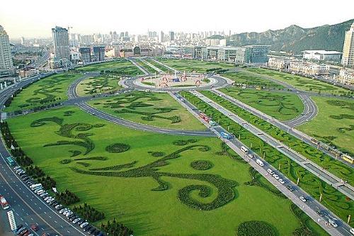 Площадь Синхай