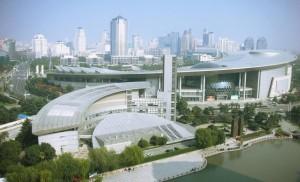 Здание Музея науки и техники в Шанхае