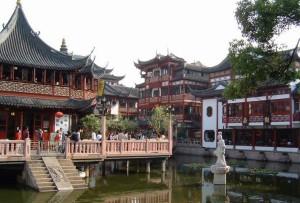 Сад Юй Юайнь в Шанхае