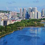 Город Санья в Китае