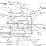 Карта метро Пекина и описание метрополитена + много фоток
