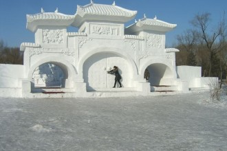 Снежные ворота