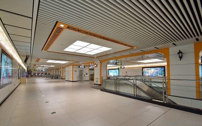Станция Huashujie