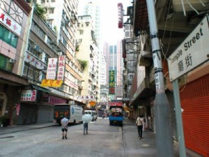 Temple Street Kowloon