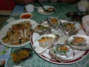 Обед в Wan Jun Long