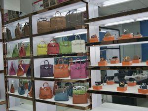 Рынок сумок в Гуанчжоу